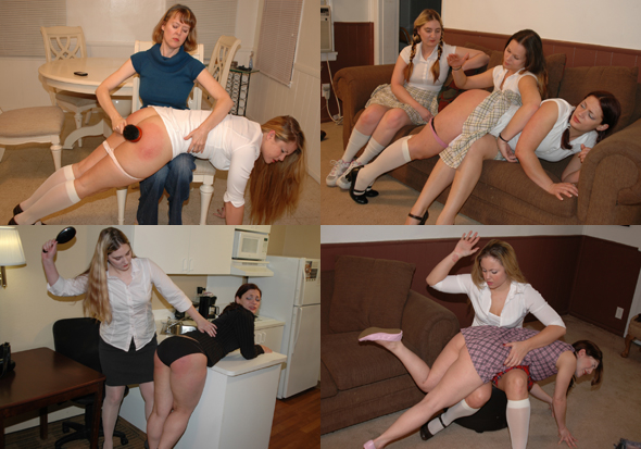 Hot Girls Spanked