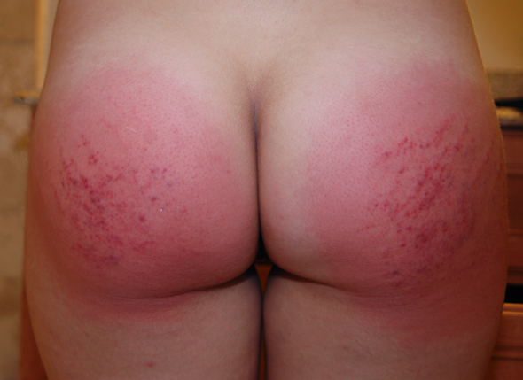 Missy Rhodes spanked