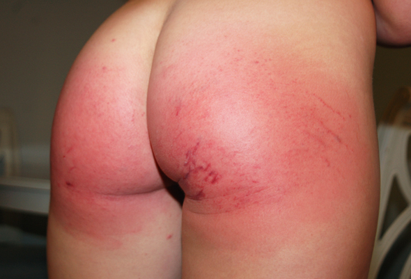 Shay Golden Spanked