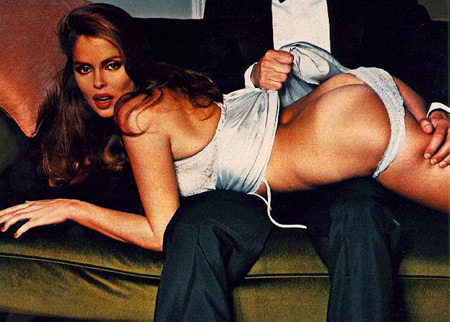 Bond girl Barbara Bach - spanked by Ringo?