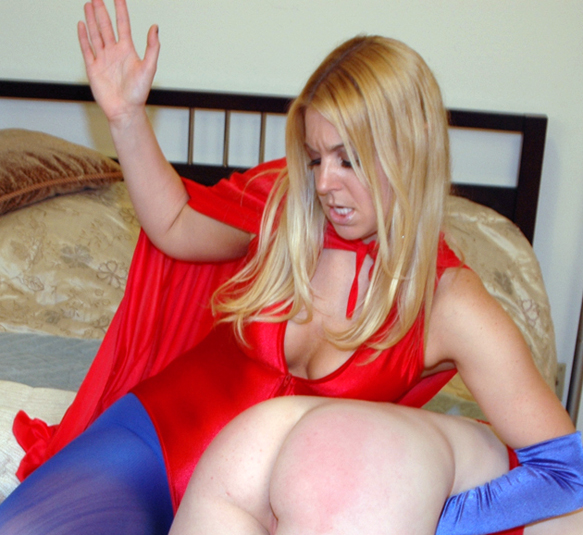 Hollie Stevens appears on My Spanking Roommate site