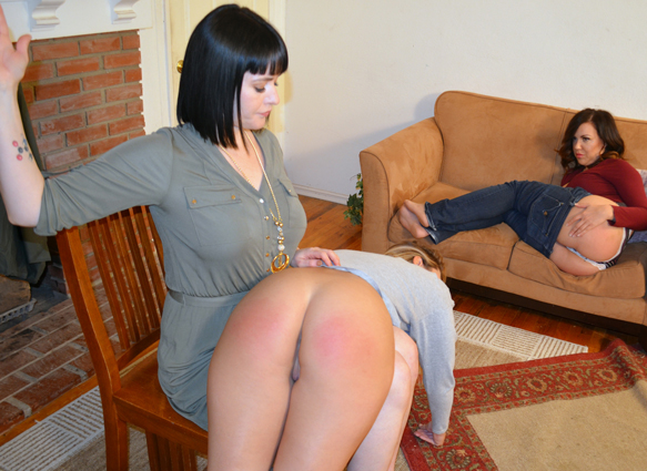 Jenna Ashley  gets sore for real in her first ever spanking shoot