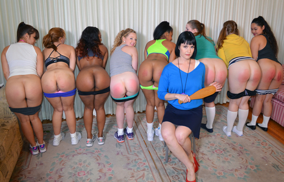 Spank Club - best spanking scene of 2015