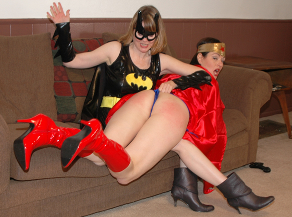 But Batgirl gets her revenge