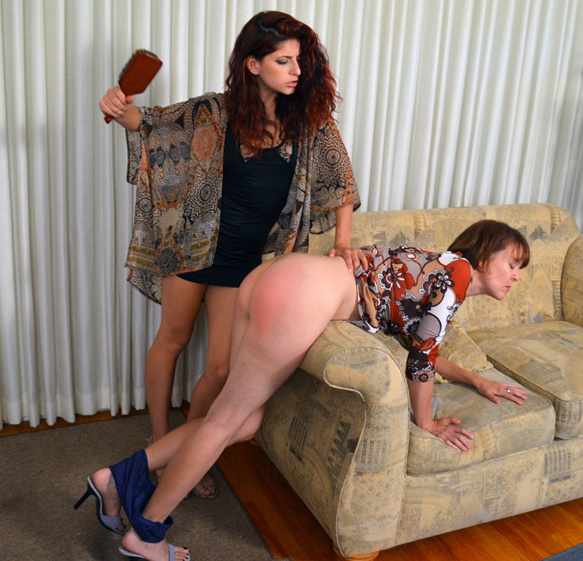 She gets spanked by Nikki Knightly on Spanked Call Girls