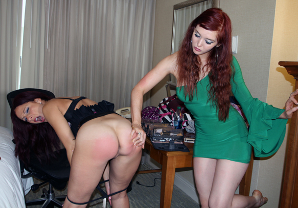 Shot quite a few scenes for Spanked Call Girls at Fetcon